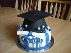 BYU-I was a lucky campus to have such good students this semester! Graduation Cake, Graduation Ideas, Mini, Super Cute, Birthday Cake, Baking, Idaho, Party Fun, Party Ideas