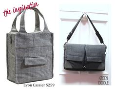 Old Suit: New Bag {a tutorial} | So You Think Youre Crafty