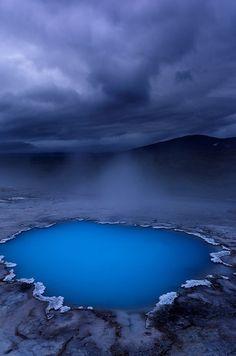 ~~Blue Oasis ~ Hveravellir, Iceland by Ben H~~