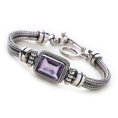Lilac Island Bracelet - silver bracelets - Silver by Mail Website