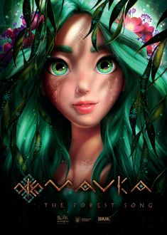 """Get a first look at the Ukrainian animated feature """"Mavka, The Forest Song. Cartoon Movies, Hd Movies, 3d Model Character, Character Design, Fantasy Movies, Fantasy Art, New Disney Movies, Forest Elf, Girly M"""