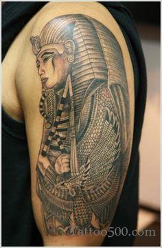 Egyptian tattoo sleeve
