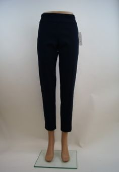 Boho Chic Pull On Pant - Navy, Made in America