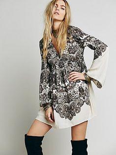 Perfectly paisley dress - freepeople.com