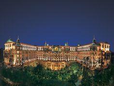 The Leela Palace, Bangalore, INDIA.  The so so exterior.. Kidding!
