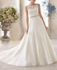 Custom Wedding Dress Bridal Gown Deb Plus-Size&colour
