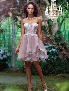 Wedding Bridesmaid Gown: Alfred Angelo Bridal Style 519 from Disney Maidens Robes Disney, Disney Dresses, Girls Dresses, Alfred Angelo Bridesmaid, Alfred Angelo Bridal, Disney Princess Bridesmaids, Wedding Attire, Wedding Gowns, Wedding Bells