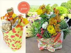Soft & Stuff-able Fabric Shopping Bags | Sew4Home