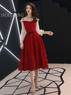 Solid color Custom Off the shoulder Long Chinese Red Wedding Dresses Wedding Dress Brands, Wedding Dresses For Sale, Wedding Dress Styles, Wedding Colors, Shoulder Sleeve, Sleeve Styles, Off The Shoulder, Chinese, Formal Dresses