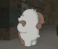 Imagem de bear, we bare bears, and hug Bear Wallpaper, Disney Wallpaper, Cartoon Wallpaper, Cartoon Profile Pictures, Cartoon Pics, Cute Cartoon, Ice Bear We Bare Bears, We Bear, We Bare Bears Wallpapers