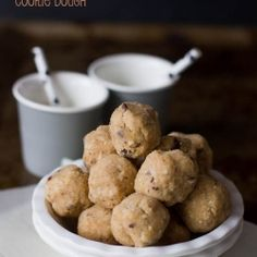 Quinoa Coconut and Salted Peanut Butter Cookie Dough | vegan and gluten free