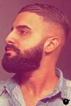 Galerie der stolzen Bartträger von - New Site Trendy Mens Haircuts, Barber Haircuts, Beard Haircut, Pattern Photography, Ideal Man, Beard Care, Hair And Beard Styles, Men's Grooming, Great Hair