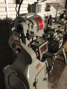 1946 Heavy 10 Lathe Machine, Drilling Machine, Turret Lathe, Tool Room, Machinist Tools, Industrial Machinery, Steel Fabrication, Lathe Tools, Metal Working Tools