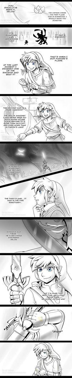 Skyward Sword - Waiting P. 1 - spoilers by *Feri-san (i love these comics!)