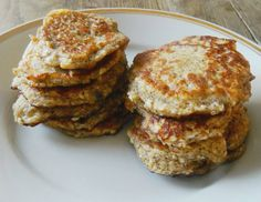 Zabpelyhes túrós puffancs (paleo változatban is! Breakfast Recipes, Pancakes, French Toast, Muffin, Sweets, Vegan, Food, Diets, Recipes For Breakfast