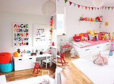 Room in boys colors though...love the brights