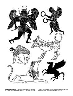 Copyright-Free Illustrations from Richard Huber's Treasury of Fantastic and…