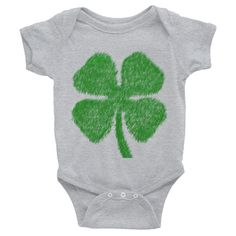 Clover - Infant short sleeve one-piece