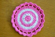 Hilly Town Blue: crochet