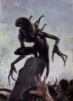 Xenomorph Prime is the elusive Alien Homeworld which has been shown little in the Alien games and comic books. Including information from Aliens: Female War and Aliens: Genocide Arte Alien, Arte Sci Fi, Alien Art, Sci Fi Art, Alien Convenant, Alien Vs Predator, Predator Comics, Predator Art, Darkhorse Comics