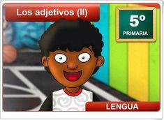 """""""Los adjetivos (II)"""" (Aplicación interactiva de Lengua Española de Primaria) Spanish Language, Teaching Resources, Learning Spanish, Learning"""