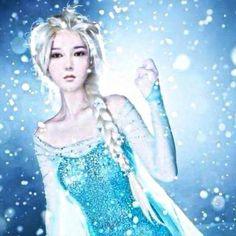 Yesung Twitter update : Elsa Yesung?? ❄️