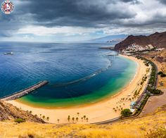 Playa de Las Teresitas, Spain  |  The Playa de Las Teresitas is a beach north of the village of San Andrés municipality of Santa Cruz de Tenerife in Tenerife, Spain.  |  Call Us Now: 0203 515 0801  |  #spain #playadelasteresitas #worldairfares #travelagentsinuk