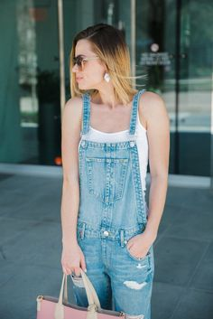 Denim Overalls | How to wear overalls | True Religion | Uptown with Elly Brown