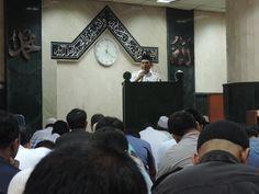 Ceramah agama Sekda Prov Dki Jakarta, Bapak H. Saefulloh di Masjid Al-Badr