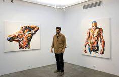 Les peintures au couteau dynamiques de Salman Khoshroo  Dessein de dessin