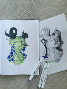 Мистер Монхэйм #монстер #персонаж #рогатый #зелёный #рисунок #скетч #скетчбук #скетчарт #арт #артработа #артиллюстрация #иллюстрация #графика #креатив #творчество #2016 #monster #character #horned #green #draw #sketch #sketchbook #sketchart #art #artwork #illustration #graphic #creative #creation