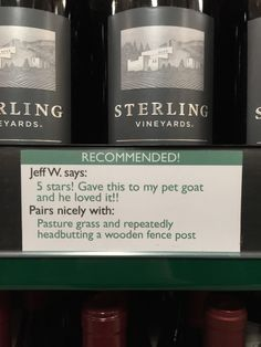 Prankster Adds Wine Recommendations to the Local Liquor Store