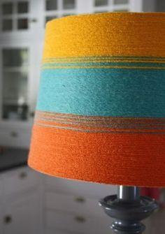 faire un abat jour en laine
