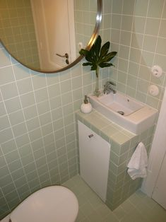 Nice.... When width wise space is limited, build out in front and install a narrow sink?