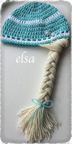 Crochet Frozen Anna and Elsa inspired by KARASKREATIONSbykara