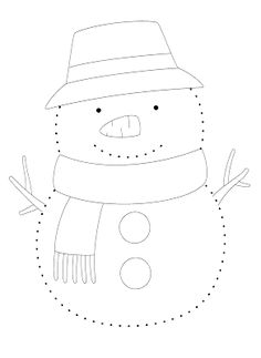 La maestra Linda: Inverno: il pupazzo di neve Christmas Party Activities, Snow Activities, Winter Activities For Kids, Holiday Crafts For Kids, Crafts For Kids To Make, Xmas Crafts, Preschool Art, Preschool Activities, Snowman Coloring Pages