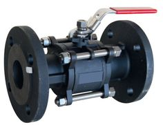 Ball Valve 3 piece body flanged