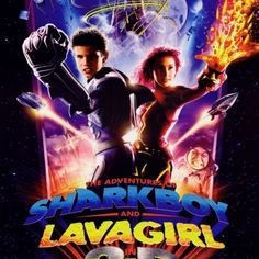 Buy The Adventures of Shark Boy & Lava Girl in Movie Poster Print x at Wish - Shopping Made Fun Sharkboy And Lavagirl, My Point Of View, I Movie, Album Covers, Art Girl, Vivid Colors, 3 D, Nostalgia, Poster Prints