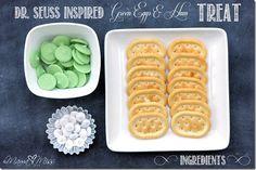 fun eats: {Dr. Seuss Inspired} Green Eggs
