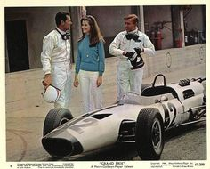 MGM movie Grand Prix staring James Garner Jessica Walters. Filmed in 1968 winner of four Academy Awards!