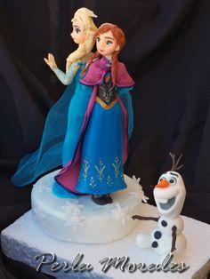 Elsa , Anna y Olaf