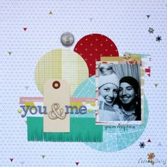 Ann-Marie Espinoza You & Me: using the January 2014 Cocoa Daisy kit: Blueprint. Get your own kit for $32.95 plus S+H at www.cocoadaisy.com