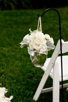 An Elegant White  Green Steel Magnolias Like Southern Family Estate Wedding