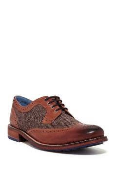 Cassiuss Leather Oxford by Ted Baker London on @HauteLook