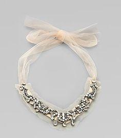 Vera Wang necklace...LO QUIERO!!!!!!!!!