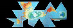 Resultado de imagen para dymaxion map