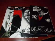 Stoker's Dracula #1 2 3 4 Marvel HORROR Comic Book Set 1-4 Complete
