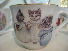 Tale of Tom Kitten (Beatrix Potter) tea cup