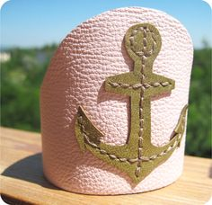 SALE Was 22 usd Nautical Anchor Cuff by maycily on Etsy, $16.00