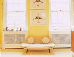 david netto yellow kids room